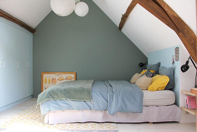 Notre chambre poligom - Mettre une sous couche avant de peindre ...