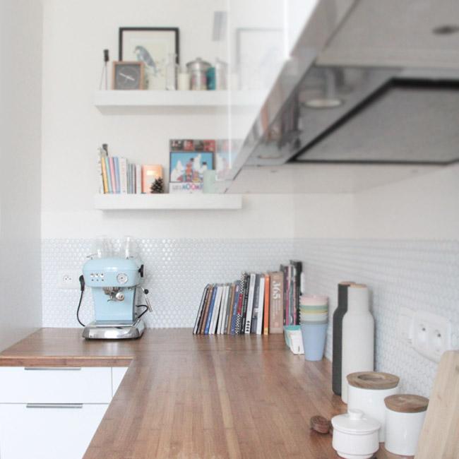 Une Nouvelle Crédence Pour La Cuisine Poligom - Carrelage pour credence de cuisine
