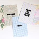 {DIY} Des cartes postales en tissu