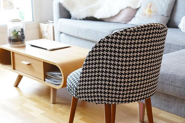 passion pied de poule poligom. Black Bedroom Furniture Sets. Home Design Ideas