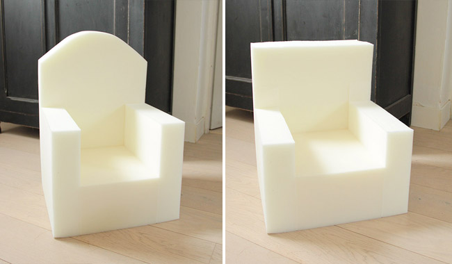 un petit fauteuil en moumoute pour ma suzon poligom. Black Bedroom Furniture Sets. Home Design Ideas