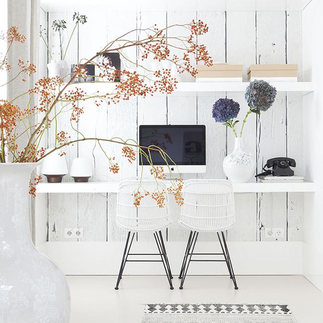 Hc travailler chez soi 5 cl s pour un bureau feng shui for Idee pour travailler chez soi