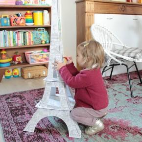 Colorier la Tour Eiffel