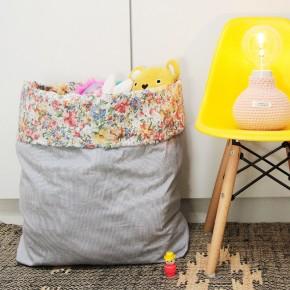 DIY • Un sac à peluches en tissu