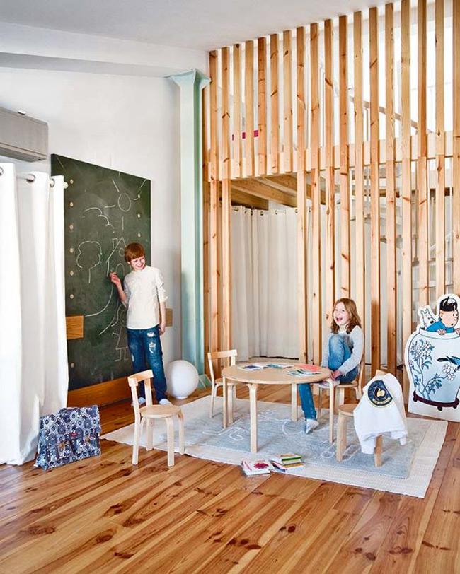Claustras int rieurs en bois poligom for Claustra interieur japonais